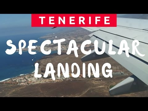 Spectacular Landing at Tenerife South Airport with Thomson Airways