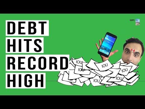 Bankruptcies SURGE as Debt Soars To RECORD HIGH! Bank of Canada Warns.