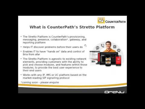 The Benefits Of CounterPath Bria Stretto - Webinar