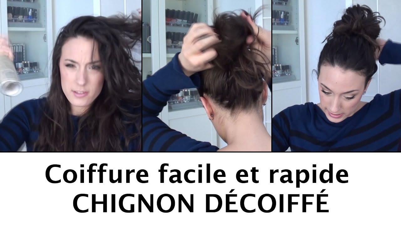 Chignon Coiffé Décoiffé Facile dedans chignon décoiffé par divajoly - tout sur les cheveux - youtube