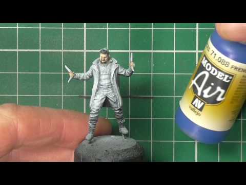 How to paint Captain Boomerang
