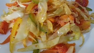 Jamaican Stir Fry Cabbage Recipes