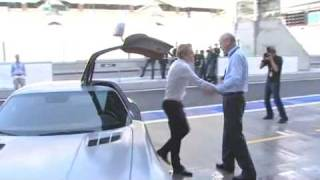 Mercedes Benz SLS AMG Desert Gold 2010 Videos