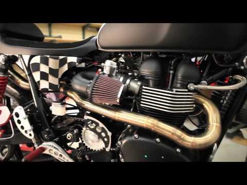 Tridays - Triumph T12 Umbau
