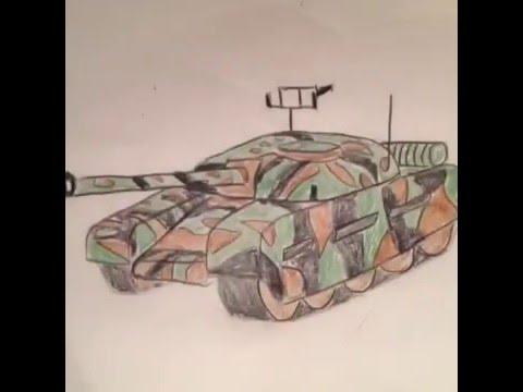 Dessin Tank Facile