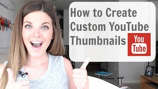 How to Make Custom Thumbnails on YouTube (Tutorial) - SO EASY!(How to Make Custom Thumbnails on YouTube // In this video I'll show you how to make and change your YouTube custom thumbnails. All it takes is my 2 secret ..., 2015-05-26T04:51:27.000Z)