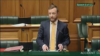 Accident Compensation Amendment Bill -  First Reading - Video 9