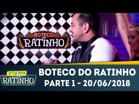 Boteco Do Ratinho - Parte 1 | Programa Do Ratinho (20/06/2018)