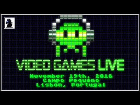Video Games Live In Lisbon, Portugal - November 19th, 2016