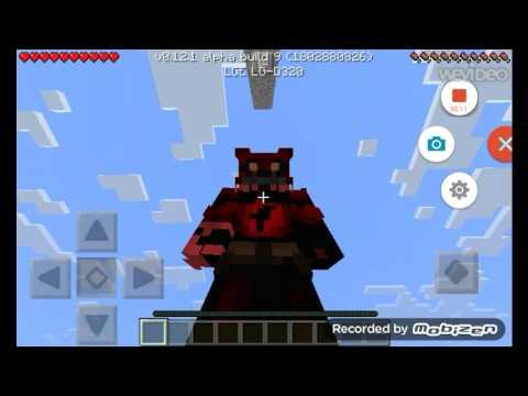 Nightmare Foxy Minecraft Skin - Minecraft fnaf spielen