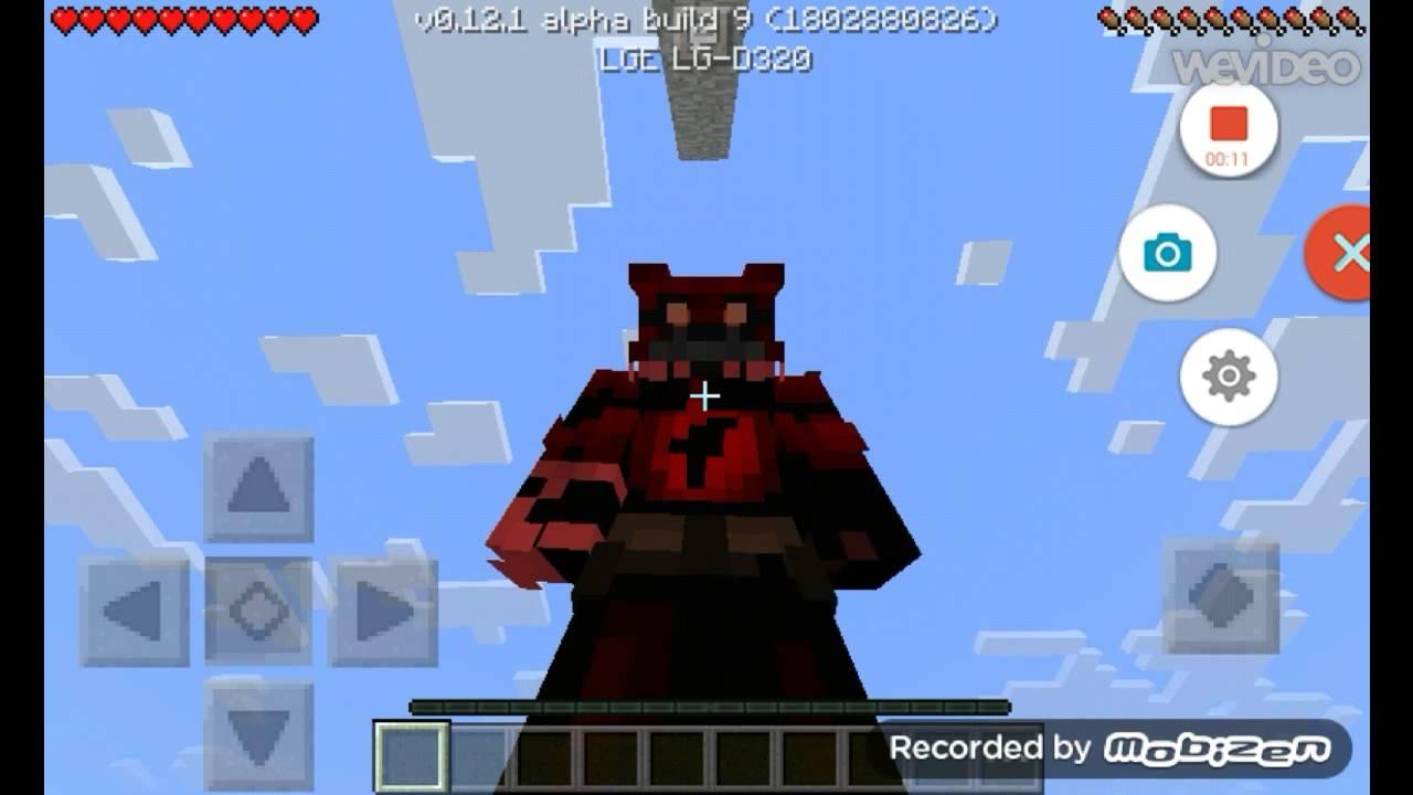 Minecraft Fnaf 4 Skins Youtube