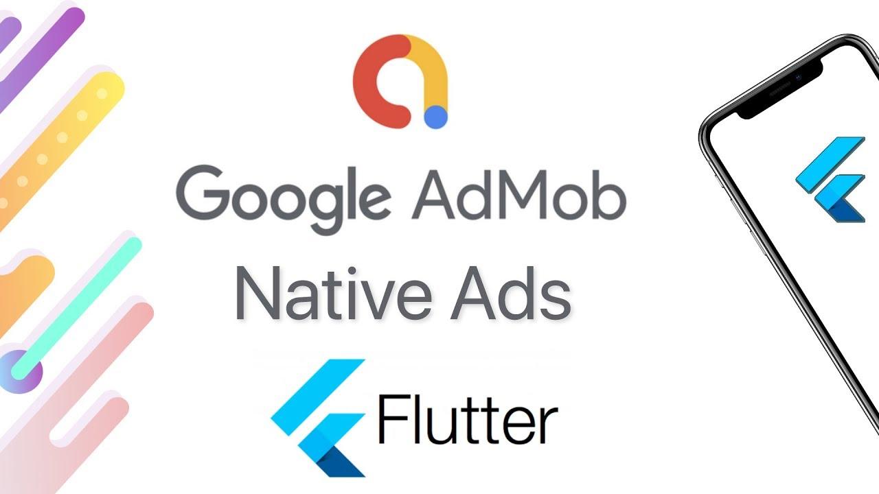 Flutter - How to Implement Flutter Native Ads | Flutter AdMob Tutorial