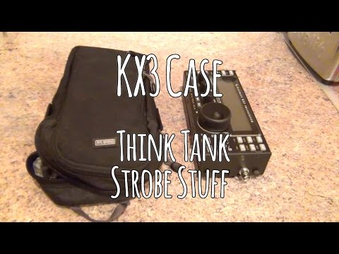 The best Elecraft KX3 case. Think Tank Strobe Stuff pouch review