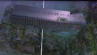 WIPING A vVv mesh base | Dropping towers on 750 | ARK OFFICIAL PS4