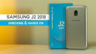 Samsung Galaxy J2 2018: Unboxing and Hands On Review