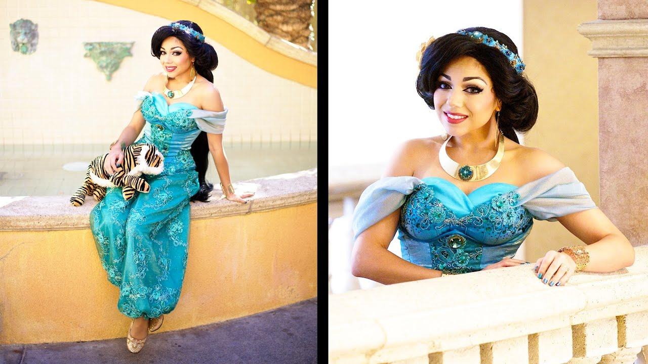 sc 1 st  YouTube & Princess Jasmine Costume! | Charisma Star - YouTube