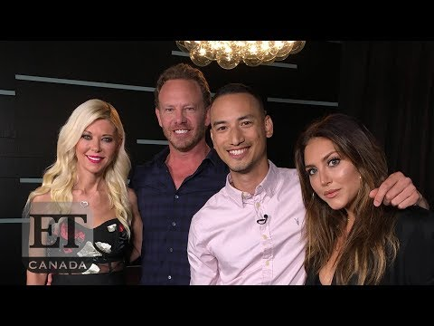 'Sharknado' Cast Members Ian Ziering, Tara Reid Say Goodbye To