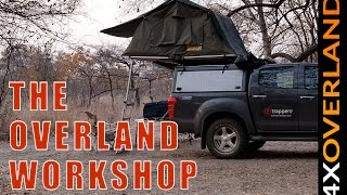 Which canopy cover? The Overland Workshop. Andrew St Pierre White