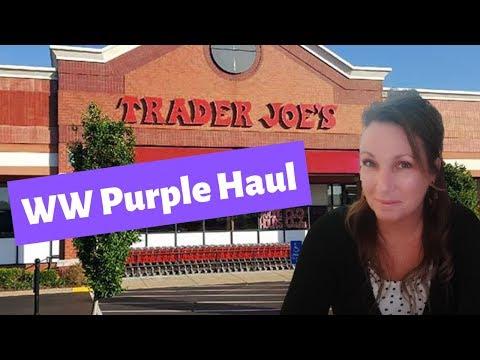 food-finds-on-ww-purple-plan-|-traders-joes-haul