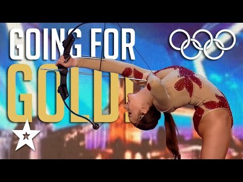 TOP 10 Olympic Games On Got Talent! Gold Medal or Golden Buzzer? Olympics Compilation