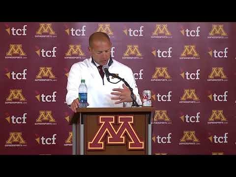 Press Conference: P.J. Fleck on 31-24 Loss to Maryland