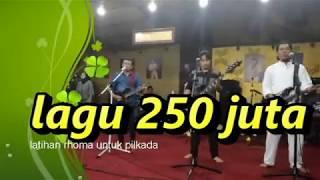 Latihan 9 Maret 2018 Lagu 250 Juta Rhoma