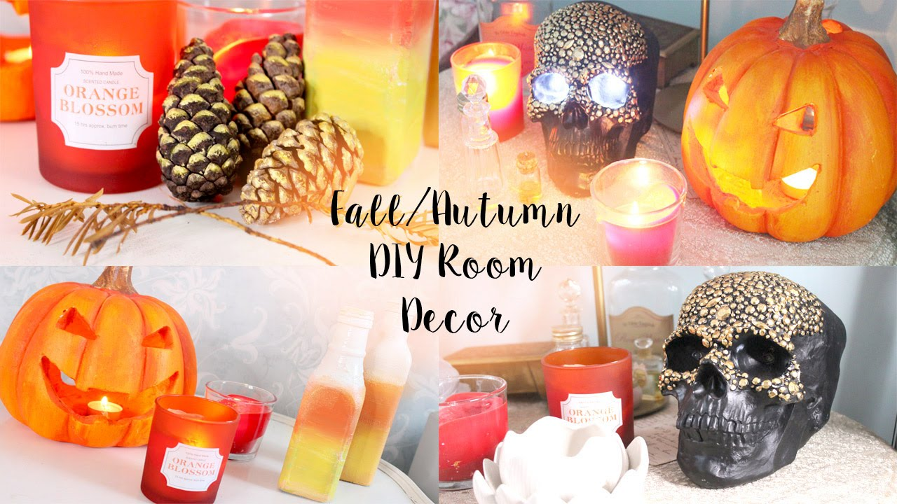 Pinterest Diy Home Decor: DIY Tumblr & Pinterest Room Decor For Autumn/Fall