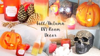 DIY Tumblr & Pinterest Room Decor For Autumn/Fall