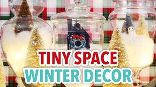 Tiny Space Winter Decor - HGTV Handmade
