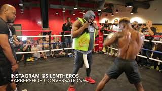 Complete Ring work!Jermell Charlo God Given Power!Almost KO's trainer 2 the body! thumbnail