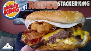 Burger King® Rodeo Stacker King Review! 🍔👑🐂♚