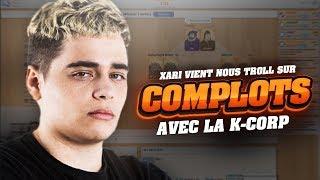 XARI VIENT TROLL KAMEL SUR COMPLOTS AVEC L'ÉQUIPE