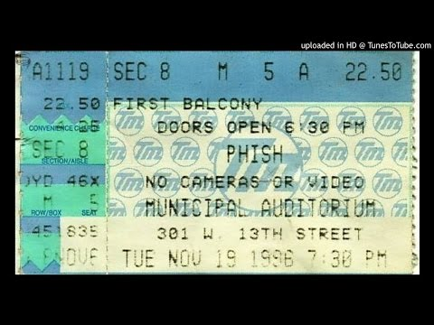 Phish 11-19-1996 Municipal Auditorium Kansas City, MO
