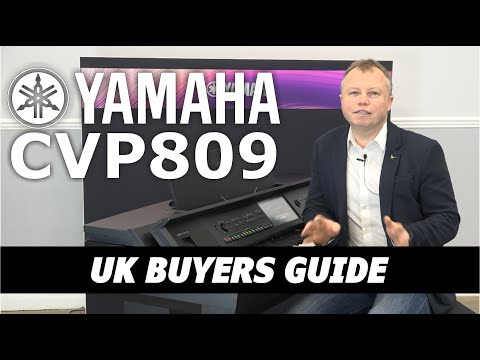 Yamaha CVP809 Digital Piano Buyers Guide & Feature Review