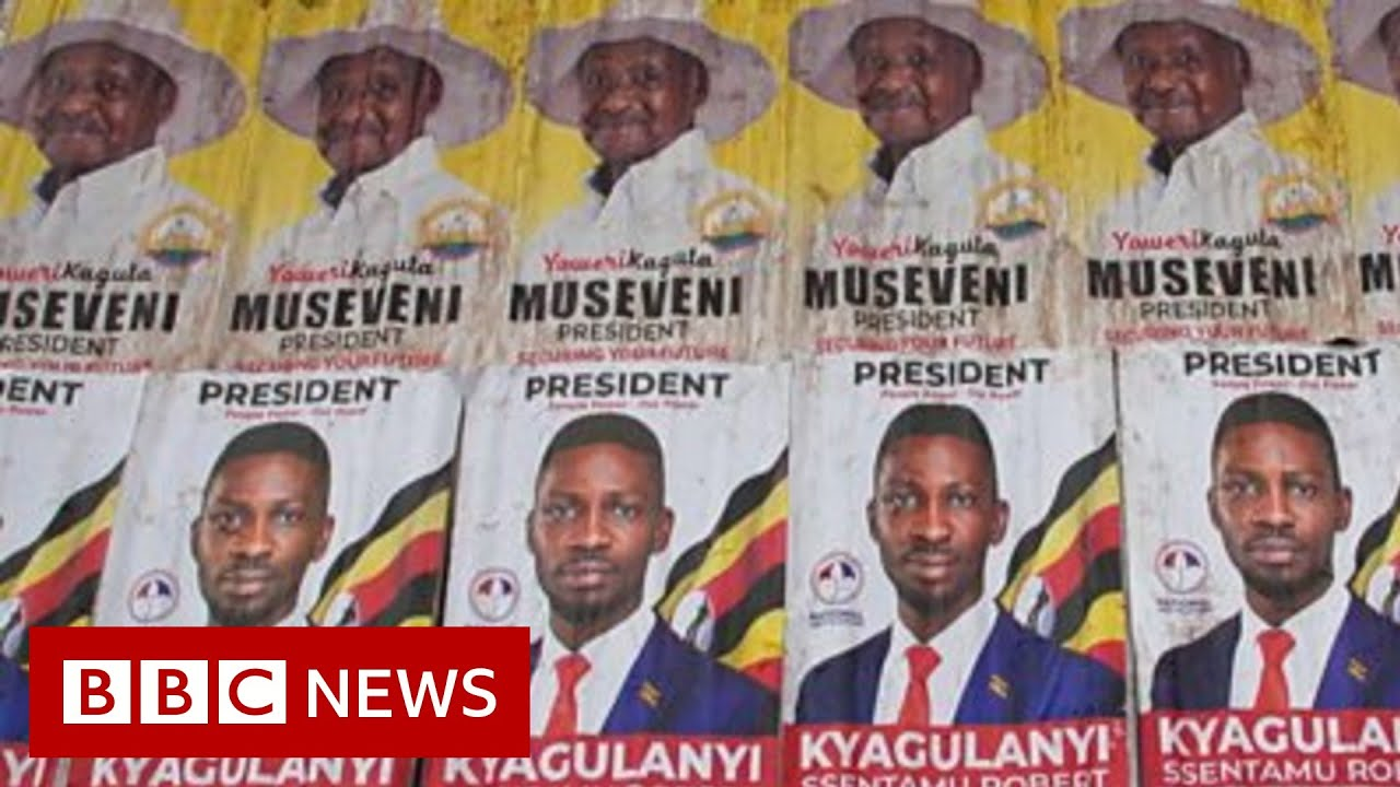 Uganda election: Singer and president battle for youth vote - BBC News