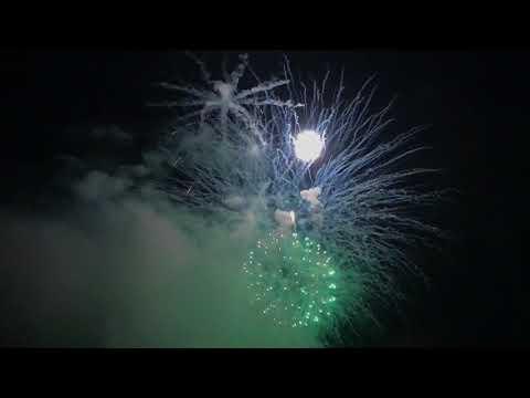 WEYMOUTH FIREWORK DISPLAY SHOT ON IPAD PRO 10.5