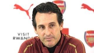 Unai Emery Pre-Match Press Conference - Arsenal v Tottenham - Carabao Cup Quarter-Final