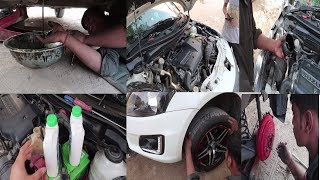 My Swift's Service Under 3000 Rupees | Car Service From Local Mechanic | Genuine Spare Parts