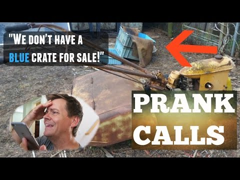 Trying to buy people's stuff that's NOT FOR SALE!  Craigslist Prank Calls