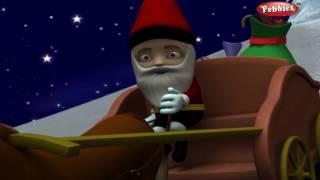 Jingle Bells | Nursery Rhymes With Lyrics | Nursery Poems | 3D Nursery Rhymes For Children
