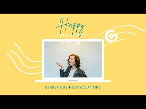 Turning 10 and a Small Biz Spotlight: Meet Gerber Business!