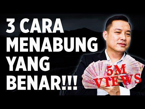 3 Cara Menabung