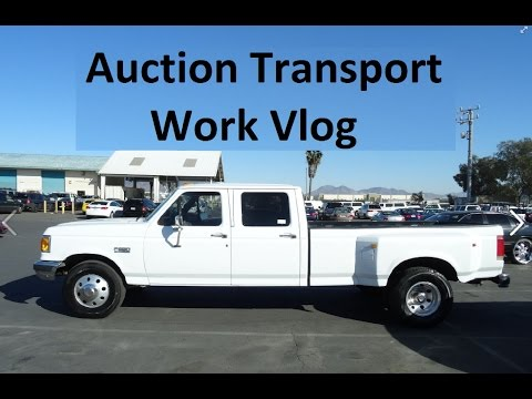 Colin Calls Behind the Scenes Update Car Auction pickup Work Vlog