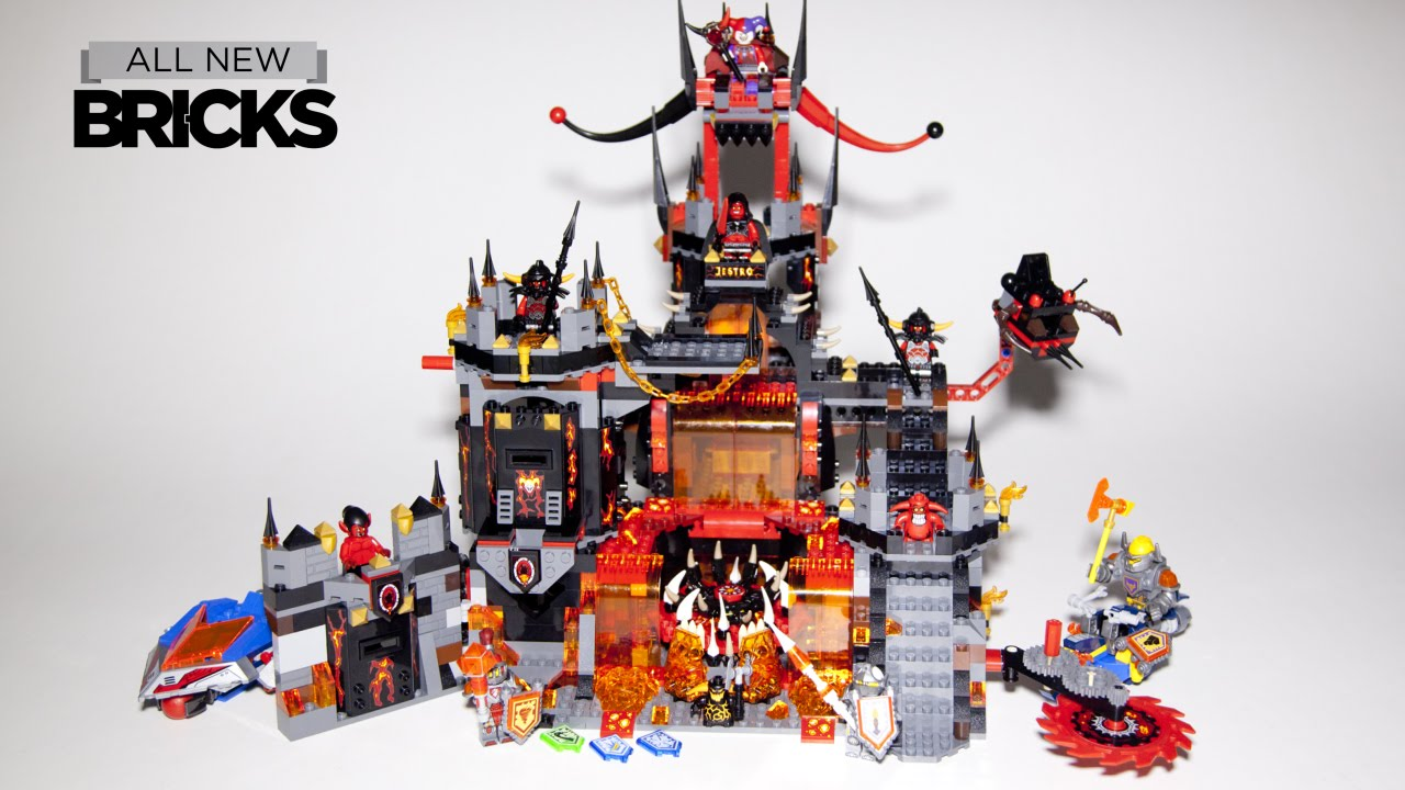 Lego Nexo Knights 70323 Jestro's Volcano Lair Speed Build