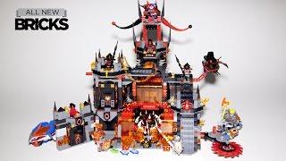 Lego Nexo Knights 70323 Jestro's Volcano Lair Speed Build