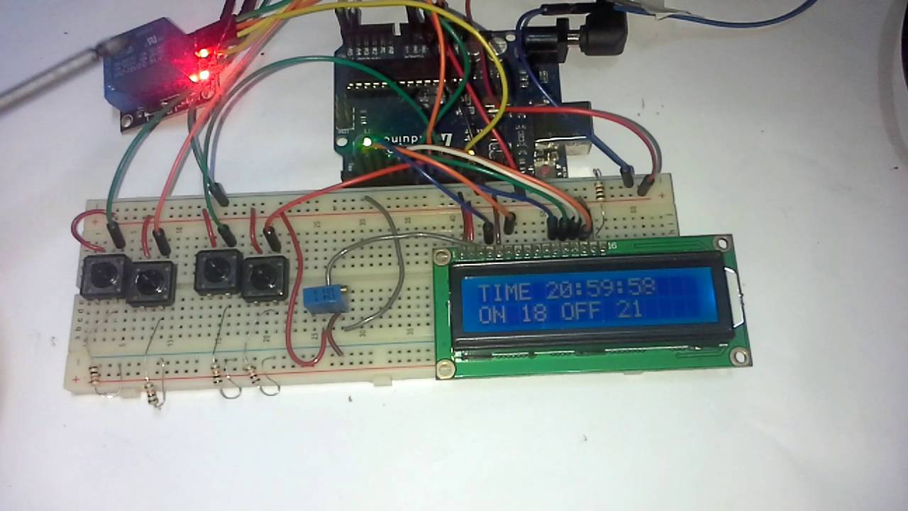Arduino Timer With On/Off Set Point: 6 Steps (with Pictures)