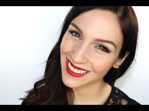 Maquillage 39 39 pin up 39 39 pour les f tes youtube - Maquillage pin up ...