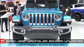 2020 Jeep Wrangler Sahara Unlimited - Exterior And Interior - Montreal Auto Show 2020