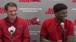 Jacksonville State Football 2018 - Weekly Press Conference - 1st Rd. Playoffs