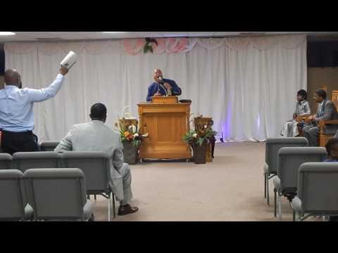 Pastor Carl Wilkins Jr. At Life Saving Kingdom COGIC Men's Conference